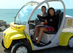 Key West 2 Seater Electric Car Rental