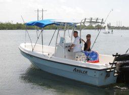 Key West 22′ Angler Panga Boat Rental