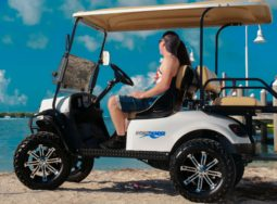 Key West 4-Seater Gas Powered Golf Cart Rental