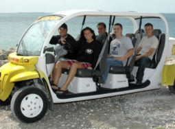 Key West 6 Seater Electric Car Rental